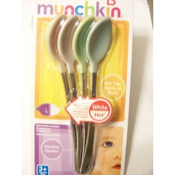Munchkin White Hot Safety Spoons 4 Ct [1]
