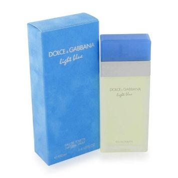 Light Blue Pour Homme Light Blue By Dolce & Gabbana For Women Eau De Toilette Spray .8 Oz