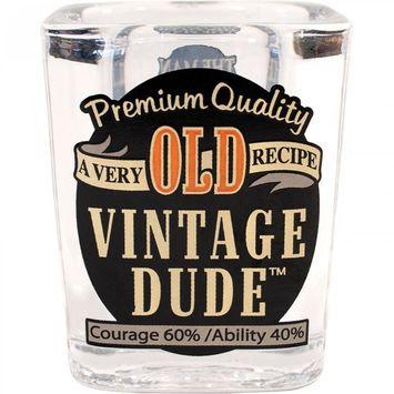 Creative Converting Vintage Dude Shot Glass