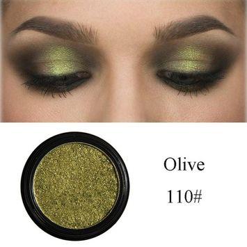Honhui New Beauty Shimmering Eyeshadow Glitter Metallic Eye Palette Cosmetic