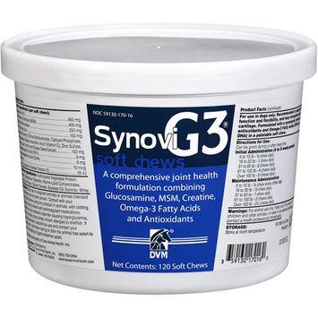 Bayer Animal Health DVM Synovi G3 Soft Chews