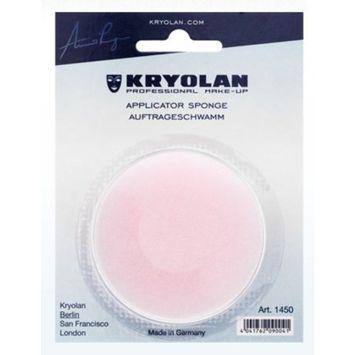 Kryolan 1450 Round Makeup Sponge (Ideal for wet or cream make-up)