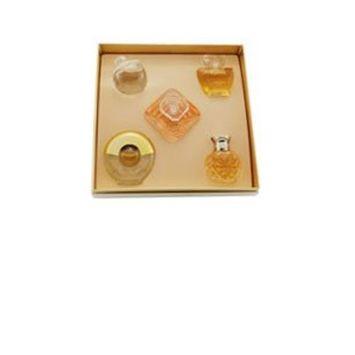 Haute Collection 5 Piece Mini Set for Women Gift Set - 0.13 oz Safari EDP Mini + 0.23 oz Noa EDT Mini + 0.25 oz Tresor EDP Mini + 0.13 oz Poeme EDP Mini + 0.16 oz Paloma Picasso EDT Mini