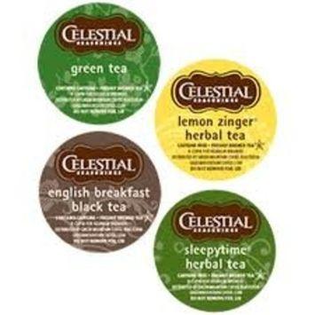 Celestial Seasonings Hot Tea Variety 5 Boxes of 22 K-Cups