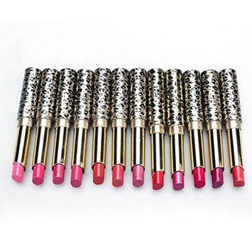 kaiCran 12pcs/lot Lipsticks Lip Stain Makeup Lot Leopard Moisturizing Lip Stick Set