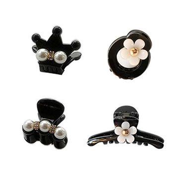 Joyci 4Pcs Elegant Hairpin Women's Headwear Hair Clip Girl's Barettes