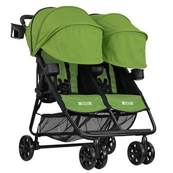 ZOE XL2 Best Double Stroller – Everyday Twin Stroller with Canopy