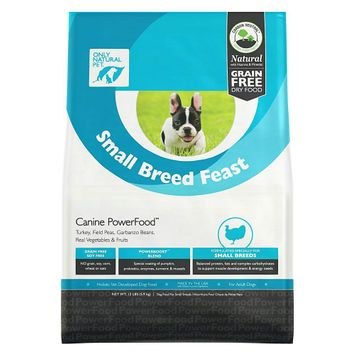 Only Natural Pet Small Breed Feast PowerFood 13 lb Bag