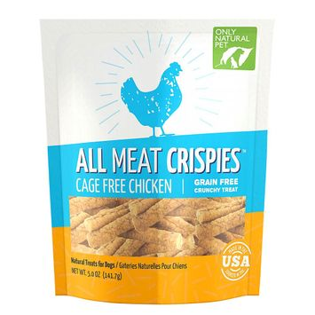 Only Natural Pet All Meat Chicken Crispies 5 oz Bag