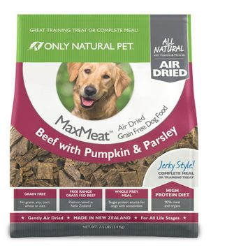 Only Natural Pet MaxMeat Air Dried Dog Beef 10 lbs