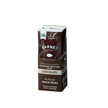 Barney Butter Almond Butter Blend Chocolate Snack Pack, 6 Count