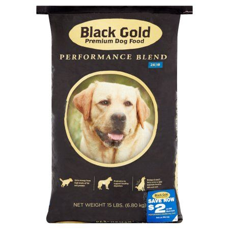BLACK GOLD PET FOODS PREMIUM PERFORMANCE 26/18 15LB