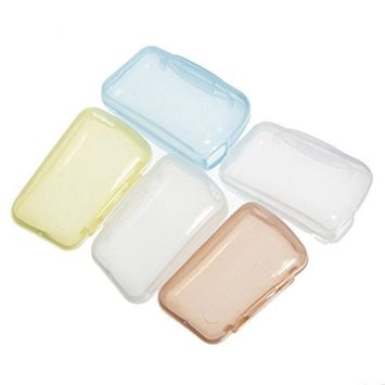 SODIAL(R) 5Pcs Travel Portable Toothbrush Head Covers Case Protective Preventing Molar