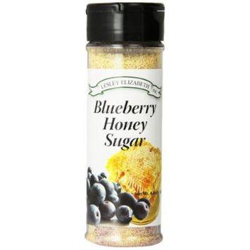 Lesley Elizabeth Honey Sugar, Blueberry, 4.4 Ounce