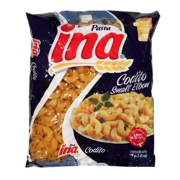 Ina Elbow Noodle 7.05 oz - Codito (Pack of 21)
