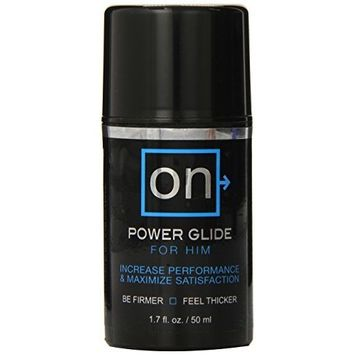 Sensuva Organics On Power Glide for Him, 1.7 Fluid Ounce [Power Glide for Him]