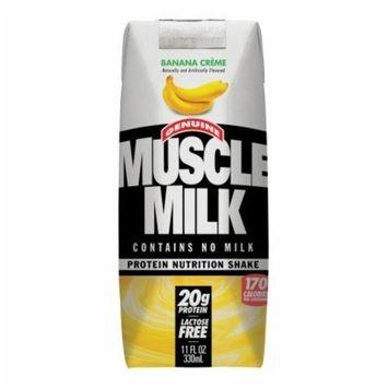 CytoSport Muscle Milk RTD - 24 - 11 Fl. Oz. Cartons - Banana Creme [Banana Creme]