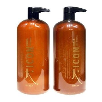 Icon India Shampoo and Conditioner Liter Duo by ICON