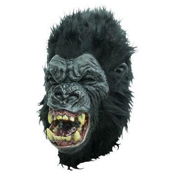 Rage Ape Latex Mask Black