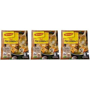 Winiary Sos Pieczarkowy Champignons Sauce Pack of Three - 1.06 Ounces each - 4 Servings Per Bag