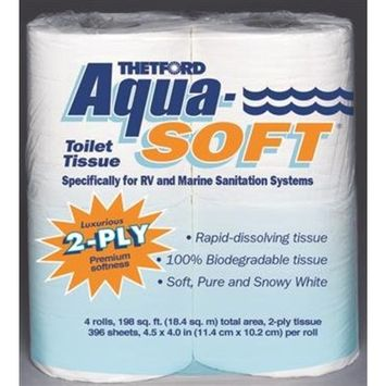 SINGLE 2PLY AQUA SOFT TIS