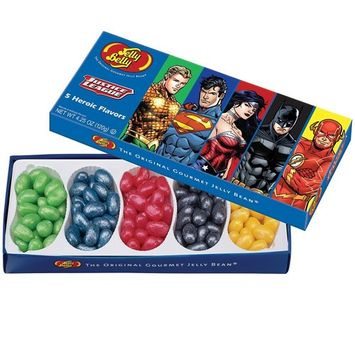 Jelly Belly Gourmet Beans DC's Comics Justice League 5 Flavor Gift Box