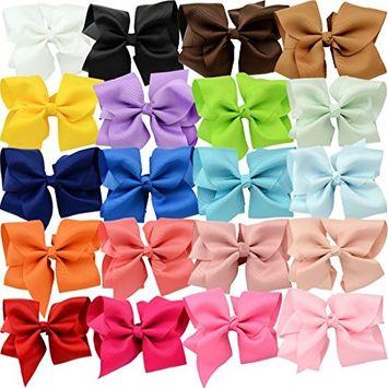 YOY Fashion Headbands Grosgrain Ribbon 6