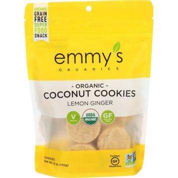 Emmy's Organics Macaroons Lemon Ginger 6 oz - Vegan