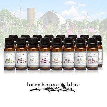 Relax - Set of 16 Premium Fragrance Oils - Barnhouse Blue