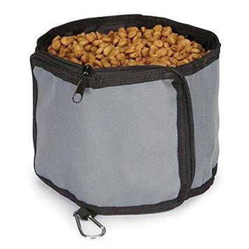 Guardian Gear Outing Travel Bowl for Pets, Slate