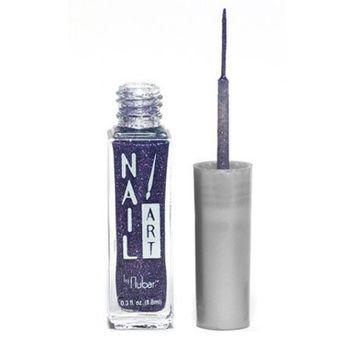 Nubar Nail Art Striper - Purple Glitter
