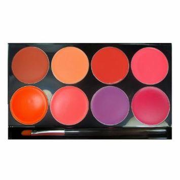 (3 Pack) mehron Cheek Cream 8 Color Palette - Cream