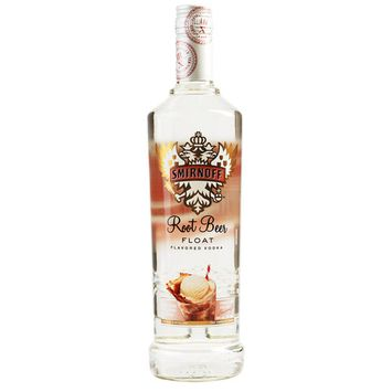 Smirnoff Root Beer Float, 750 mL, 60 Proof (Vodka Infused with Natural Flavors)