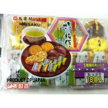 Marukyo Meisaku Mixed Flavor Cake 8.81 Oz/250g