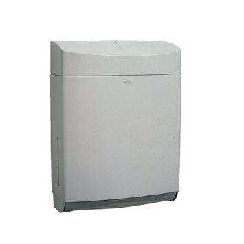 Bobrick 5262 Matrix Series Surface-Mounted Paper Towel Dispenser, ABS Plastic, Gray