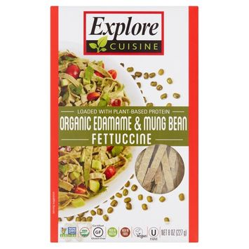 Explore Cuisine Organic Edamame & Mung Bean Fettuccine, 8 oz