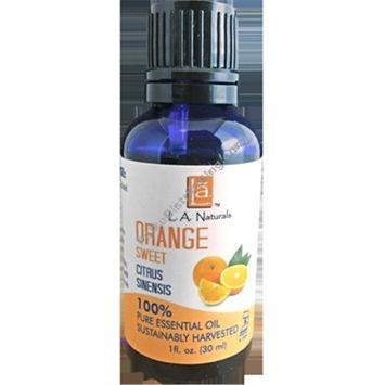 Long Aid Naturals 1133612 1 oz Orange Sweet Essential Oil - Case of 12