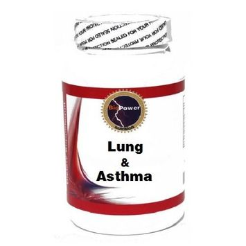 Lung and Asthma 90 Capsules # BioPower Nutrition