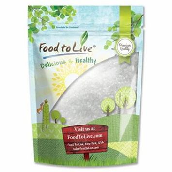 Food To Live ® Sea Salt (Extra Coarse Topping) (8 Pounds)