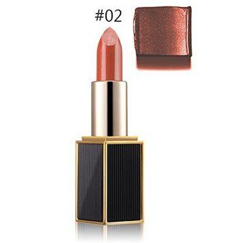 Mmrm Women Shining Ryukin Gold Lipstick Bright Moisturizing Lipstick Lip Makeup - #2