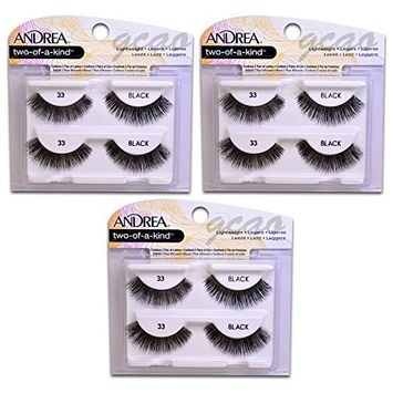 Andrea two of a kind Lashes 33 black ( 3 pack )