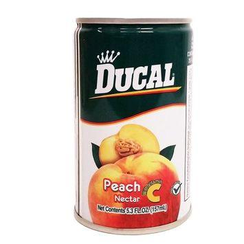 Ducal Peach Juice 5.3 oz fl - Jugo de Melocoton (Pack of 36)