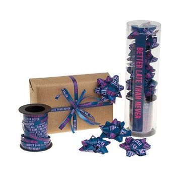 Wrapper's Delight ribbon and bow kit - Better Late than Never