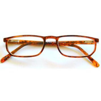 Dr. Dean Edell +1.50 Plastic Tortoise Reading Glasses with Spring Hinges -D50