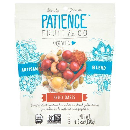 Fruit D'or Patience Fruit; Co, Dried Fruit Spice Blend Oasis, 4.6 Oz (Pack Of 8)
