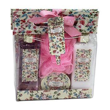 Peony Luxury Bath Spa Gift Set in Carry Gift Bag