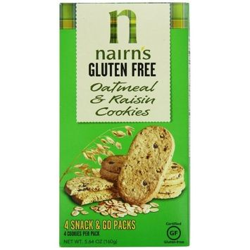 Nairn's Gluten Free Oat Grahams, Raisin, 5.64oz [Raisin]