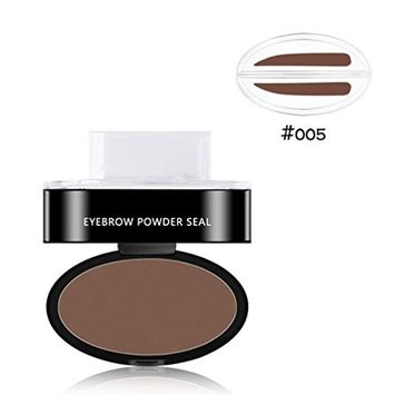 Voberry Prefect Eyebrow Stamp Powder, Prefect Eyebrow in Seconds, Natural Looking,Waterproof Long Lasting