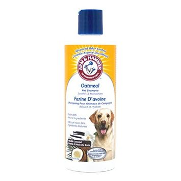 Arm & Hammer Oatmeal Shampoo for Dogs | Best Oatmeal Shampoo for All Dogs and Puppies, 16 ounces (Pack of 2), Vanilla Coconut Scent