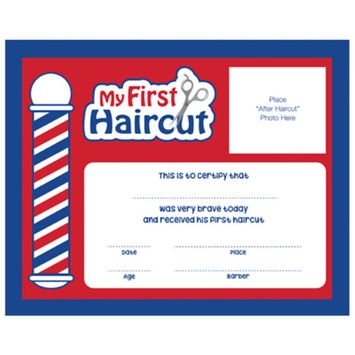 Details about #SC-MFH My First Haircut